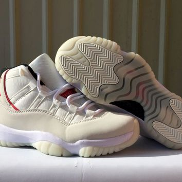 "Air Jordan 11 Retro ""Platinum Tint"" Size 36-47"