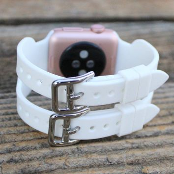 Apple Watch Double Band | Silicone Apple Watch Bands