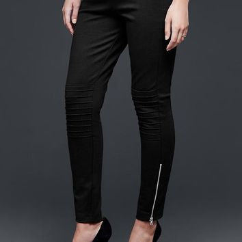 Gap Women Moto Ponte Leggings