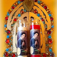 Saint Tom Waits Prayer Candle