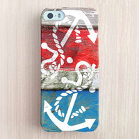 iPhone 6 Case, iPhone 6 Plus Case, iPhone 5S Case, iPhone 5 Case, iPhone 5C Case, iPhone 4S Case, iPhone 4 Case - Vintage Anchor