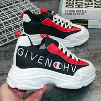 Givenchy X Champion Trending Women Stylish Breathable Running Sport Shoes Sneakers White/Black I12223-1