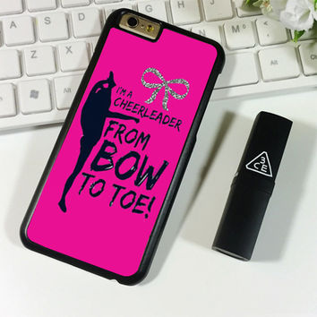 bow to toe cheer iPhone 6 Plus | 6S Plus Case Planetscase.com