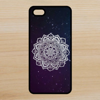 Mandala V12 Space Art Phone Case iPhone 4 / 4s / 5 / 5s / 5c /6 / 6s /6+ Apple Samsung Galaxy S3 / S4 / S5 / S6