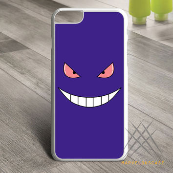 Pokemon Gengar Sinister face Custom case for iPhone, iPod and iPad