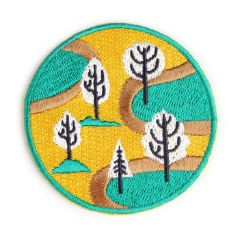 Nature Park Iron On Patch