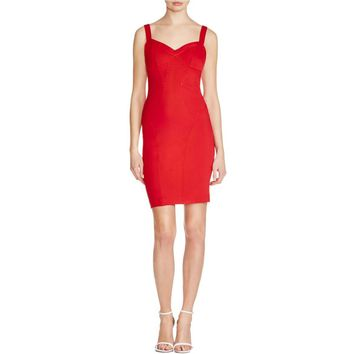 Ali & Jay Womens Ponte Cut-Out Bodycon Dress