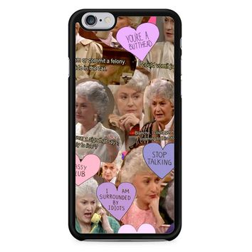 The Golden Girl Collage iPhone 6/6S Case