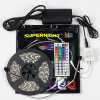 5M SMD RGB 5050 Waterproof Strip light 300 LED + 44 Key IR Remote + 12V 5A power