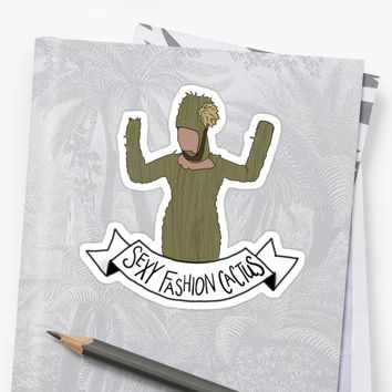 'Crazy Ex Girlfriend Sexy Fashion Cactus' Sticker by NowTheWeather