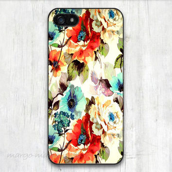 cover case fits iPhone models, unique mobile accessories, colorful,flower