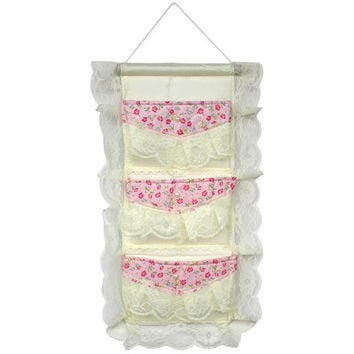[Lace & Allover] Ivory /Wall Hanging/ Wall Organizers / Hanging Baskets