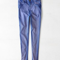 AEO Women's Sky High Jegging (Blue)