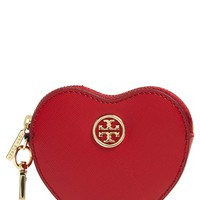 Tory Burch 'Robinson' Heart Key Fob