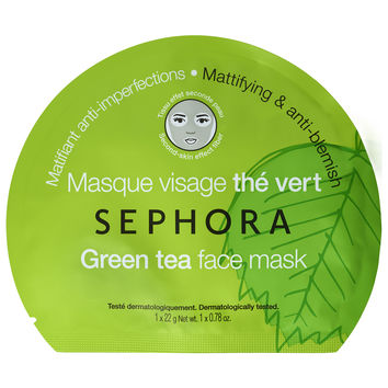 Sephora: SEPHORA COLLECTION : Face Mask - Green Tea : sheet-masks