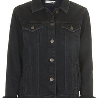MOTO Tarot Denim Jacket - Black
