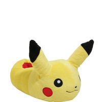 Pokémon Pikachu Plush Slippers