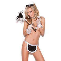 Maid to Order Three Piece Lingerie Set