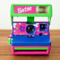 TESTED Barbie Polaroid Camera 600, Pink Polaroid Camera, Kids Polaroid, Purple Polaroid, Working Polaroid, Green Polaroid, Blue Polaroid