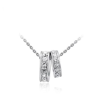 New Arrival Stylish Shiny Gift Jewelry Ring Necklace [9281913028]