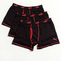 3 Pack Boxer Brief Black/Red
