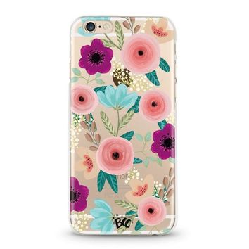 Sweetest Floral Clear Case