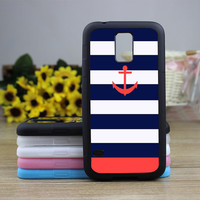 Samsung Galaxy S5 case,Anchor Samsung Galaxy S4 case,Samsung Galaxy S3 case,Stripe Phone cases,Phone Covers