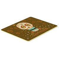 Day of the Dead Kitchen or Bath Mat 24x36 VHA3031JCMT
