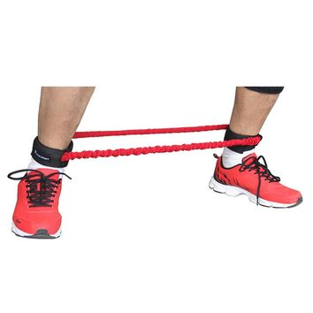 Leg resistance bands walks Jump speed stepper trainer covered resistance bands for leg leg trainer