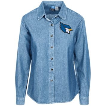 High Point Women's LS Denim Shirt