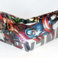 Comic Book Wallet// Uncanny Avengers// Thor, Scarlet Witch, and Captain America