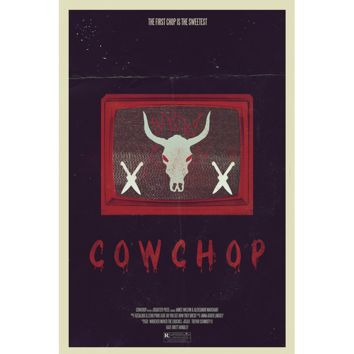 Cow Chop The First Chop Poster