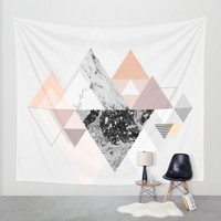 Graphic 110 Wall Tapestry by Mareike Böhmer Graphics And Photography