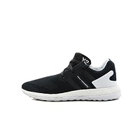 Best Deal Adidas Y-3 Pure Boost ZG Knit 'Core Black'