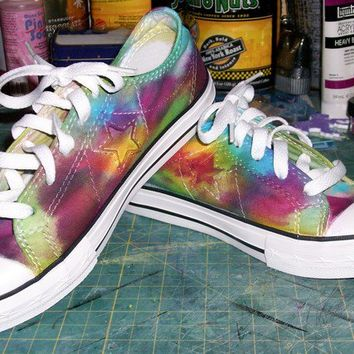 Tie-Dyed Converse