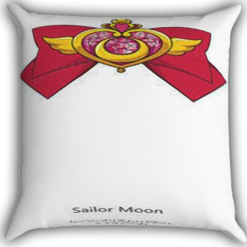 Sailor Moon Crisis Moon A0053 Zippered Pillows  Covers 16x16, 18x18, 20x20 Inches