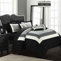 Comforters - Black & White Comforters, Bed Comforter Sets