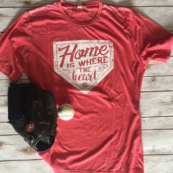 2018 Home Is Where The Heart Is  T-Shirt