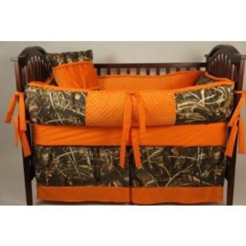 Custom Made Baby Crib Bedding Max4HD Camo