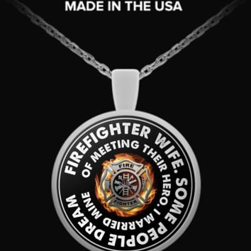 Firefighter Wife - Necklace ffwv111215