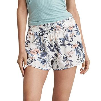 Women Sexy Hot Pants Summer Casual Floral Printed Shorts