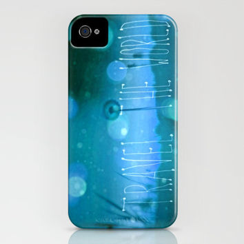 TRAVEL THE WORLD II iPhone Case by M✿nika  Strigel	 | Society6