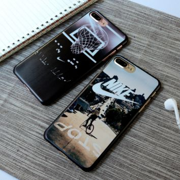 """Nike"" Printed Iphone 7&7 Plus Cover Case + Nice Gift Box"