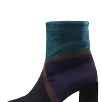 Jeffrey Campbell Shoes FINESTRA New Arrivals in Black Navy Teal