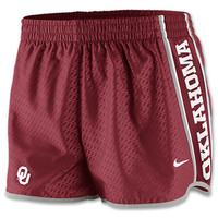 Women's Nike Oklahoma Sooners College Chainmaille Pacer Shorts