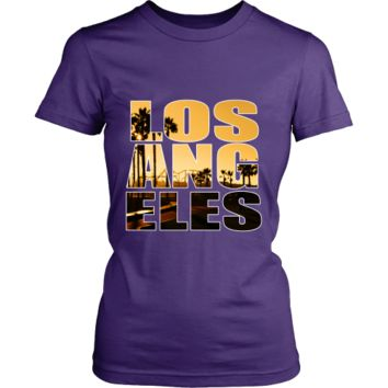 "Los Angeles ""Sunset"" Women's Shirt"