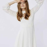 Love Sadie Long-Sleeve Mock-Neck Dress