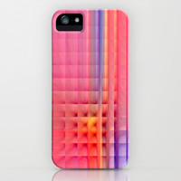 Pink Mosaic iPhone & iPod Case by Christine baessler