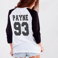 Liam Payne One Direction T-Shirt for Teen Teenage Girls Teenager Blogger Tumblr Clothing Merch Fashion Shirt Birthday Christmas Gifts