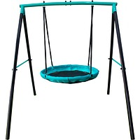 1 or 2-person UFO/ Flying Saucer-Magic Carpet Swing-Set for Kids/Toddlers
